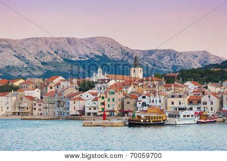 Baska, Krk, Croatia, Europe.