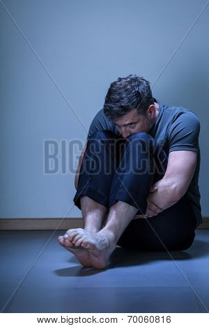 Man With Depression