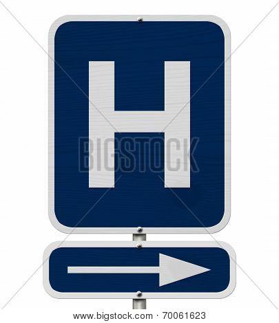 Hospital Sign