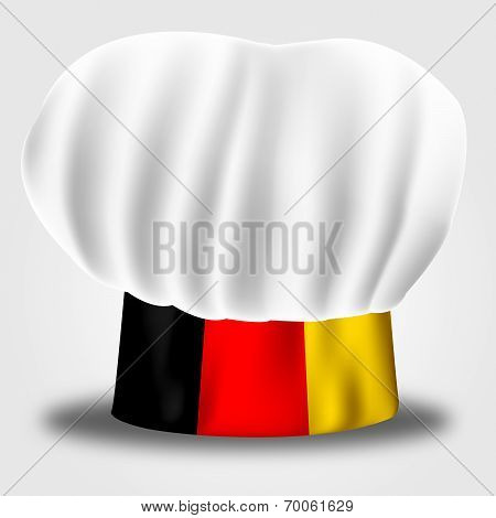 Germany Chef Shows Cooking In Kitchen And Euro