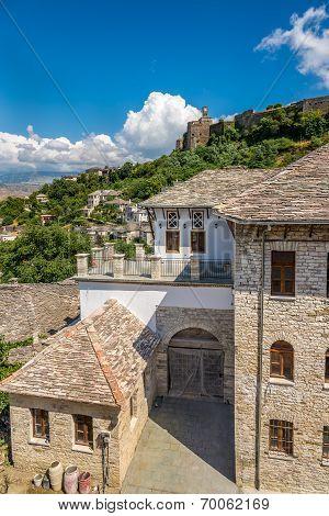 Old Ottoman Houses In Gjirokaster