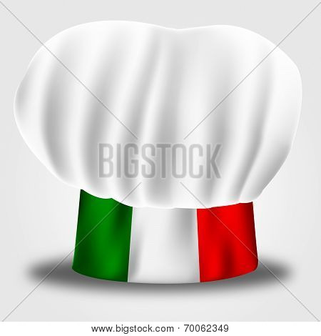 Italy Chef Shows Cooking In Kitchen And Catering