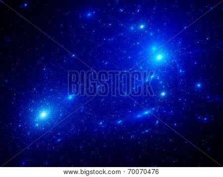 Blue Starfield