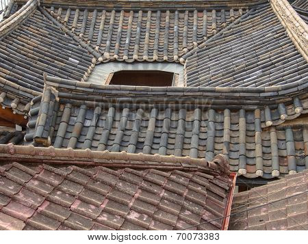 Korean rooftops