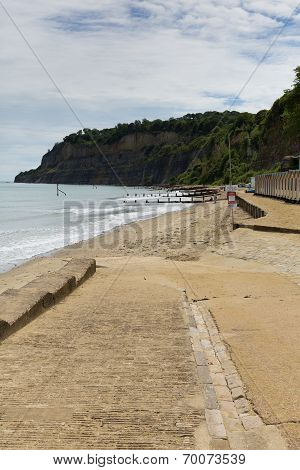 Shanklin Isle of Wight England UK, popular tourist and holiday location east coast