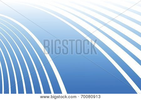 Abstract blue background. Vector art.