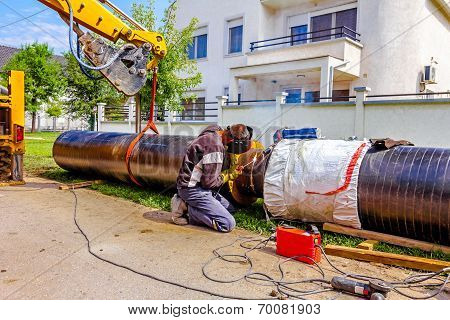 New Pipeline In Neighborhood