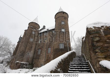 Ancient Castle In Germany