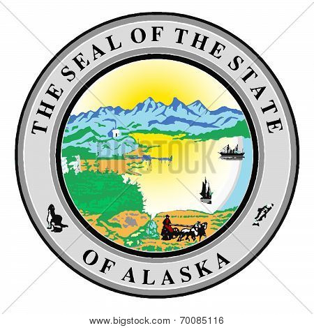 Seal Of The State Of Alaska