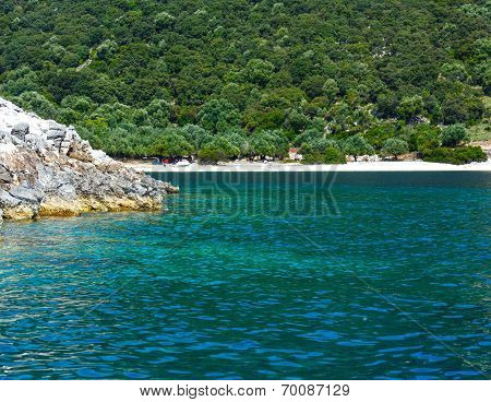 Summer Kefalonia Coast View (greece)