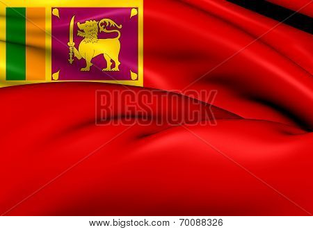 Civil Ensign Of Sri Lanka