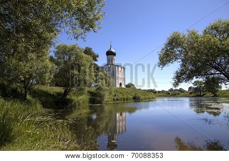 Church of the Intercession on the Nerl. Bogolyubovo, Vladimir region, Golden Ring of Russia