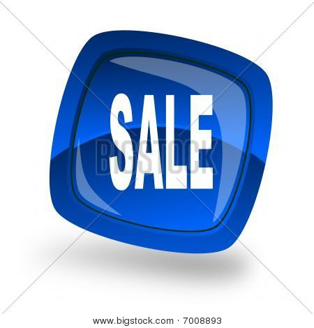 Blue Sale icon