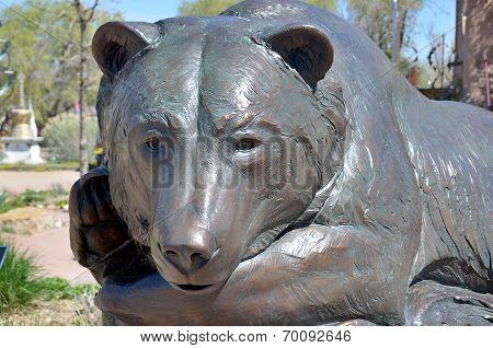 Sleeping Bears Sculpture