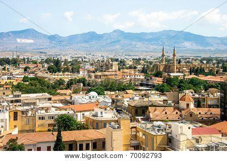 Nicosia Aerial View