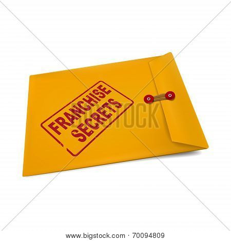 Franchise Secrets On Manila Envelope