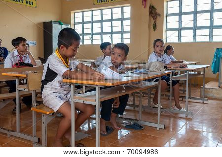 Children in class