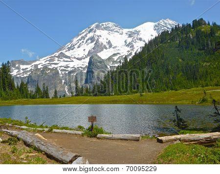 Mt. Rainier from Klapatche Park