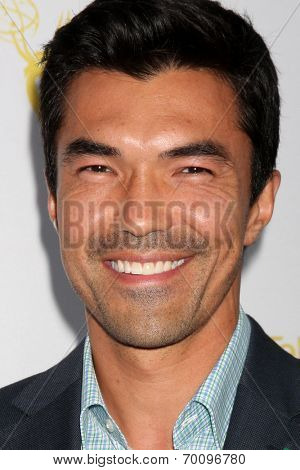 LOS ANGELES - AUG 12:  Ian Anthony Dale at the Dynamic & Diverse:  A 66th Emmy Awards Celebration of Diversity Event at Television Academy on August 12, 2014 in North Hollywood, CA