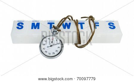 Stopwatch And Pill Minder