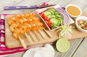 stock photo of sate  - Sate Goong  - JPG