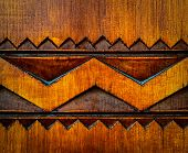 foto of woodcarving  - abstract background or texture detail woodcarving ornament - JPG