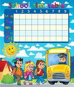 foto of driving school  - School timetable composition 6  - JPG