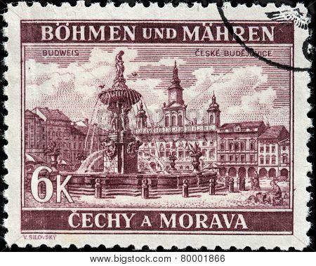 Budweis Stamp