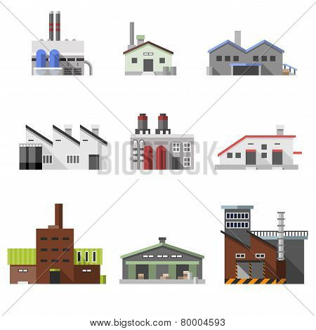 Industrial buildings flat