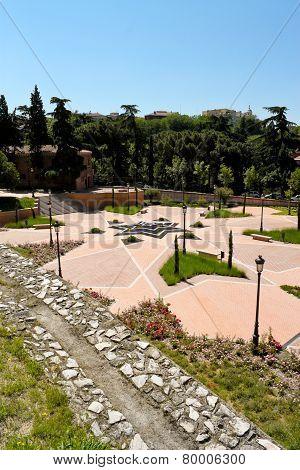 Park Of Emir Mohamed I In Madrid