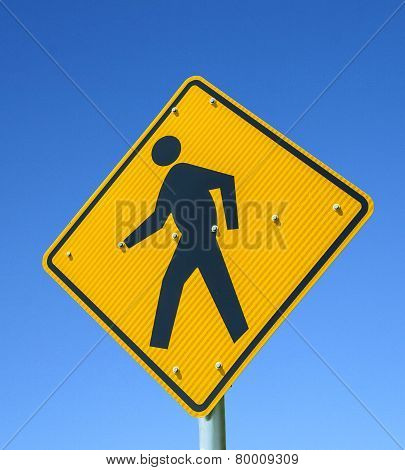 The Pedestrian Crossing Sign