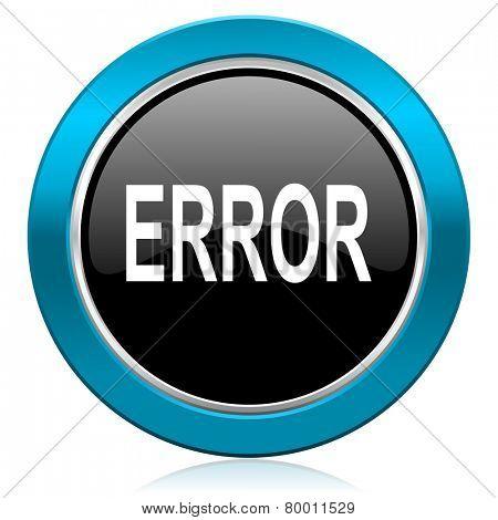 error glossy icon