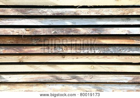Long Wooden Planks For The Carpenter
