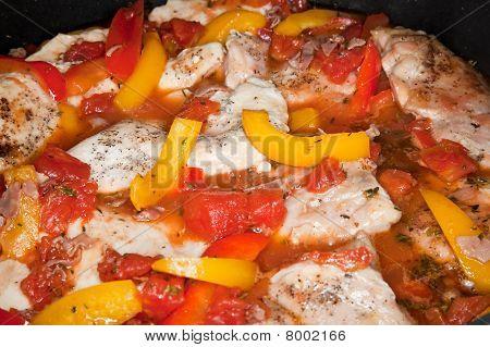 Roman Style Chicken