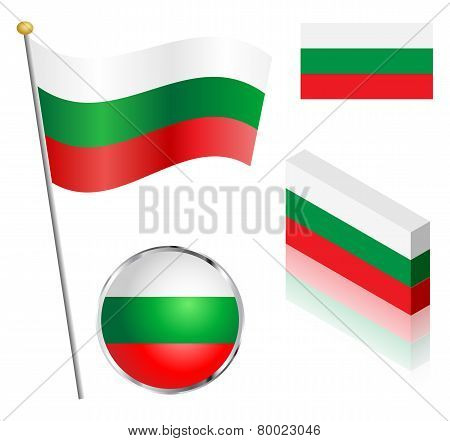 Bulgarian Flag Set