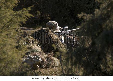 Sniper targeting
