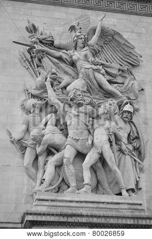 Arch Of Triumph - Le Triomphe.