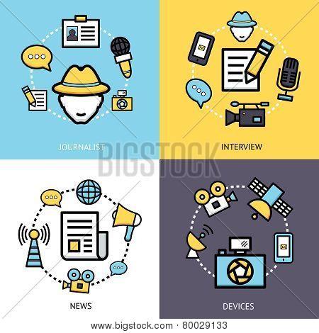 News Reporter Design Concept