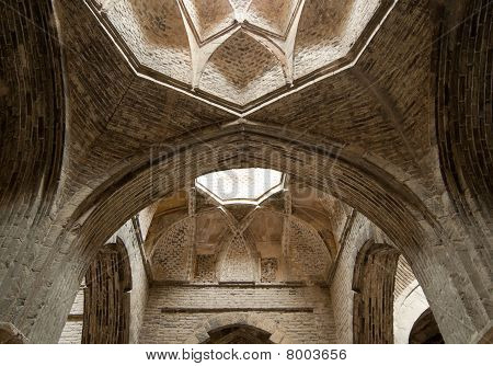 Dome Of Jameh Or Friday Mosque, Isfahan, Iran