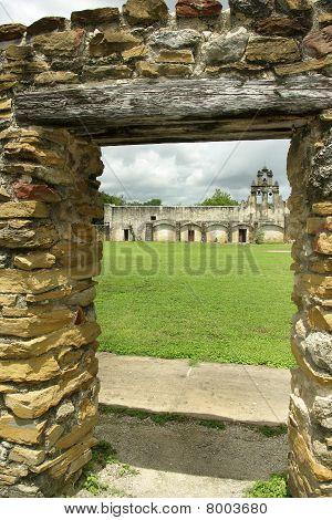 San Juan Mission and doorway