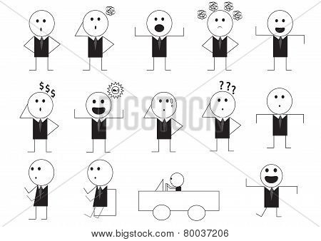 Man Manner Sign Cartoon