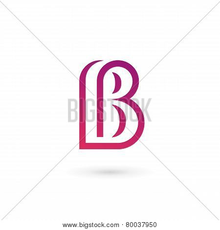 Letter B Logo Icon Design Template Elements