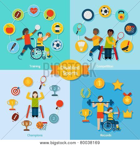Disabled Sport Set