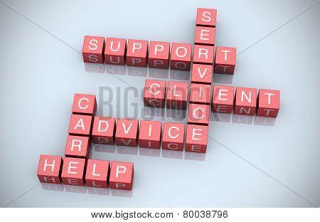 Digital Customer Support Crossword