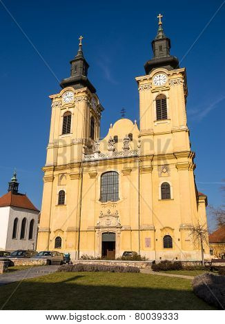 St. Stephen's Basilica In Szekesfehervar, Hungary