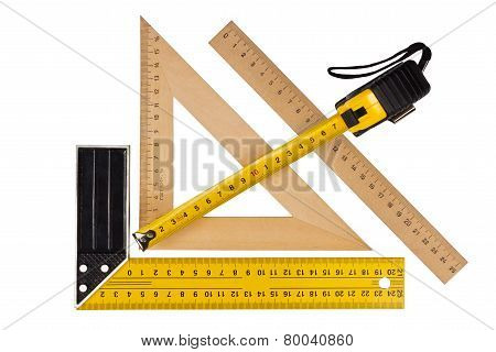 Measuring The Angle And Length