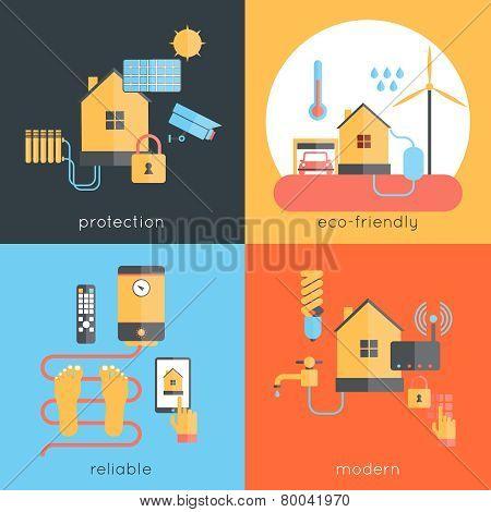 Smart Home Flat