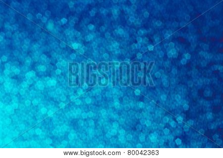 Blue Pentagon Shape Abstract Background