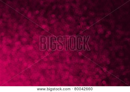 Pink Pentagon Shape Abstract Background