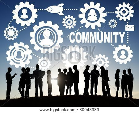 Community Culture Society Population Team Tradition Union Concept